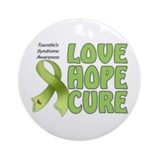 Tourette's Awareness Ornament (Round)