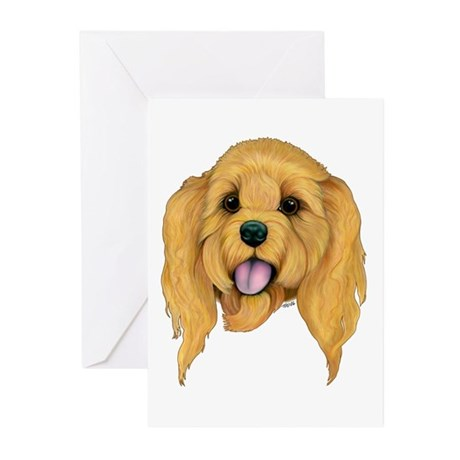Cockapoo Greeting Cards (Pk of 10)