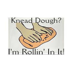 Rollin' Dough Rectangle Magnet (10 pack)