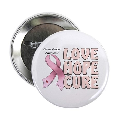 "Breast Cancer Awareness 2.25"" Button (100 pack)"