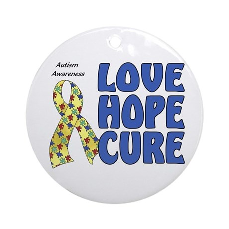 Autism Awareness (hlc) Ornament (Round)