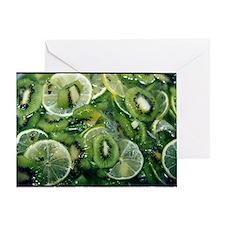 Kiwi Lime - Greeting Card