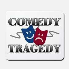 Comedy Tragedy Mousepad