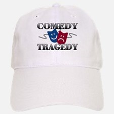 Comedy Tragedy Baseball Baseball Cap