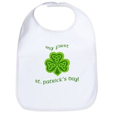My First St Patricks Day Bib