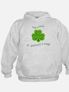 My First St Patricks Day Hoodie