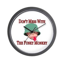 Funky Monkey Wall Clock