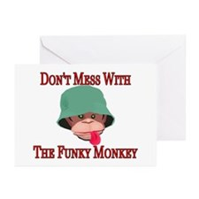 Funky Monkey Greeting Cards (Pk of 10)