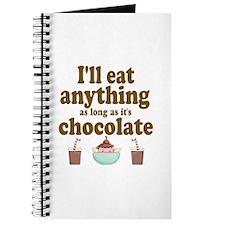 Valentine Chocolate Journal