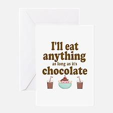 Valentine Chocolate Greeting Card