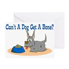 Get A Bone Greeting Cards (Pk of 10)