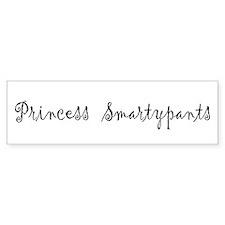 Princess Smartypants Bumper Sticker
