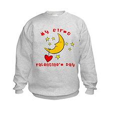 My First Valentine's Day Sweatshirt