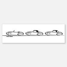 Three 190SL's Bumper Bumper Bumper Sticker