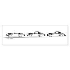 Three 190SL's Bumper Bumper Sticker