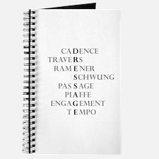 dressage language Journal