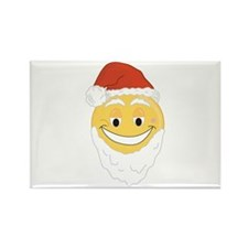 SANTA SMILEY! Rectangle Magnet