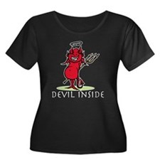 Pregnant Devil Halloween T