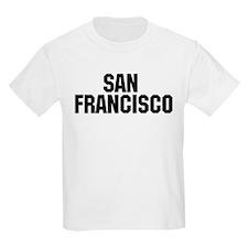 San Francisco, California Kids T-Shirt