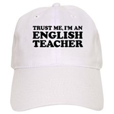 English Teacher Baseball Cap