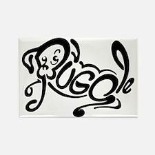 Puggle Logo Rectangle Magnet