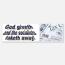 God giveth (sticker)