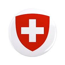 "Swiss Shield 3.5"" Button (100 pack)"
