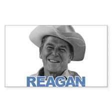 Reagan 1980 Election Rectangle Decal