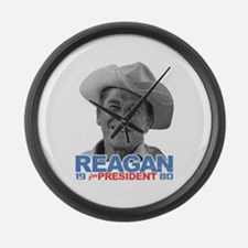 Reagan 1980 Election Large Wall Clock