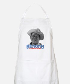 Reagan 1980 Election BBQ Apron