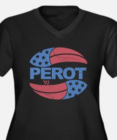Ross Perot 92 Election Women's Plus Size V-Neck Da