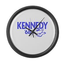 John Kennedy 1968 Dove Large Wall Clock
