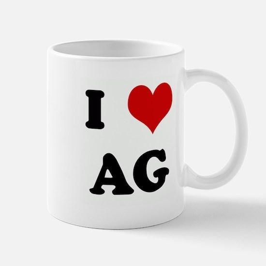 I Love AG Mug