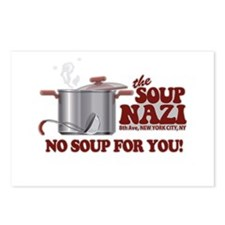 Soup Nazi No Soup Postcards (Package of 8)