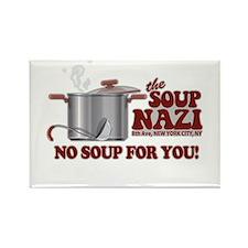 Soup Nazi No Soup Rectangle Magnet