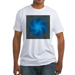 Clouds V Fitted T-Shirt