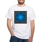 Clouds V White T-Shirt