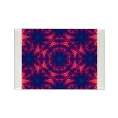 Sunset III Rectangle Magnet
