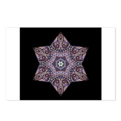 Paisley Star I Postcards (Package of 8)