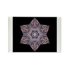 Paisley Star I Rectangle Magnet