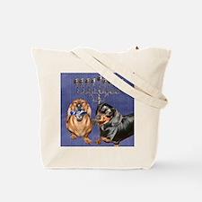 Jewish Star Tote Bag