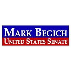 Mark Begich for Senate Bumper Bumper Sticker