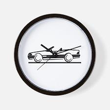 Mercedes SL W 129 Wall Clock