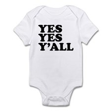 Yes Yes Ya'll Hip Hop Infant Onsie