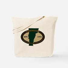 Vermont Est. 1791 Tote Bag