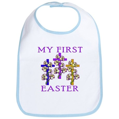 Christian 1st Easter Bib