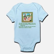 Mother Goose If Wishes Were Horses Infant Bodysuit