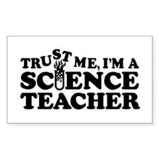 Science Teacher Rectangle Decal