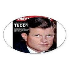 Political Tributes Oval Decal