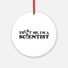 Scientist Ornament (Round)